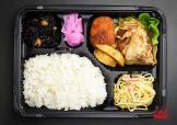 豚の生姜焼き&コロッケ