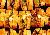 5種のサンドイッチと揚げ物のプラン