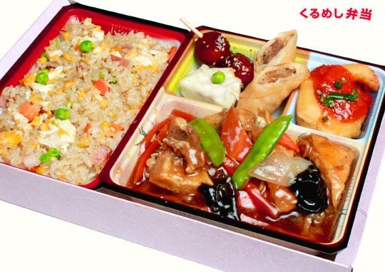 家常豆腐弁当(ジアジャンドウフ)