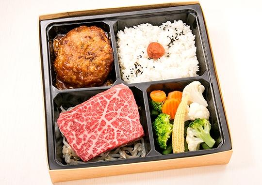 極上霜降りステーキ&飲める黒毛和牛ハンバーグ【A5ランク】