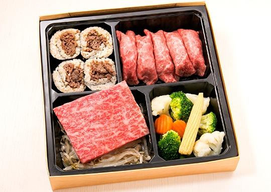 極上霜降りステーキ&黒毛和牛の肉寿司【A5ランク】