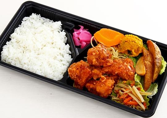 鶏のから揚げ マヨケチャ和え弁当