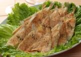鮮魚のパン粉焼き