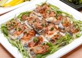 白身魚の柚子味噌焼き
