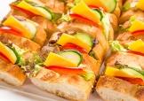 チーズ野菜サンド
