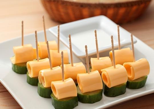 チーズのピンチョス