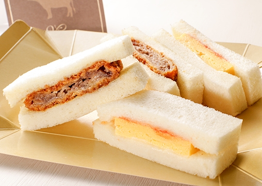 松阪牛ビーフサンド&厚焼きたまごサンド