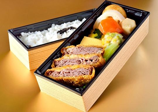 松阪牛ビーフカツ二段重