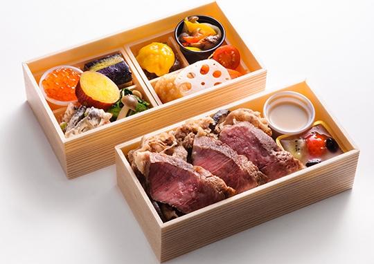 和牛ローストビーフ&和牛すき焼き彩り懐石御膳【10月~5月】