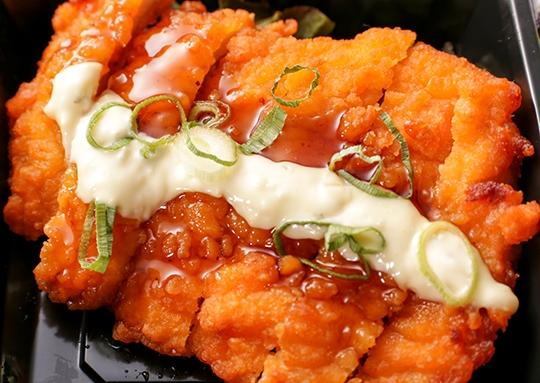 チキン南蛮&白身魚の香草焼き弁当