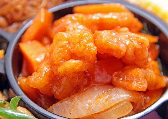 白身魚の甘酢豪華幕の内弁当