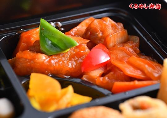 贅沢回鍋肉&酢豚弁当
