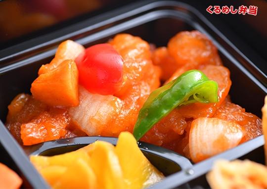 贅沢麻婆茄子&白身魚の甘酢弁当