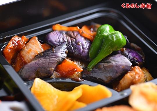 贅沢鶏の四川風&麻婆茄子弁当
