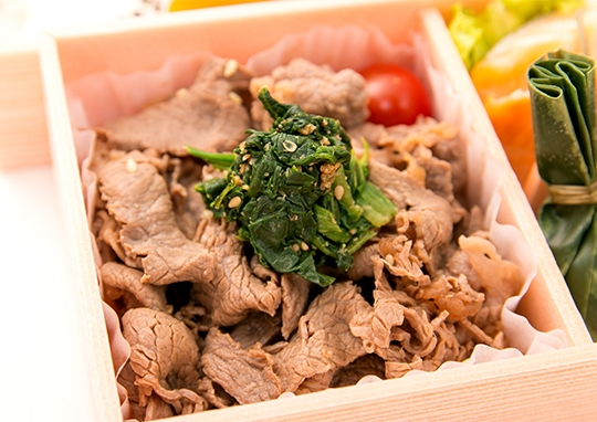 牛焼肉特選2段弁当