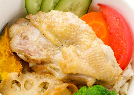 海南鶏飯ボウル(シンガポール)