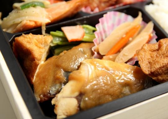 鯖みそ煮ボリューム弁当