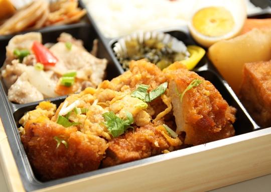 カツ煮&鶏大根弁当