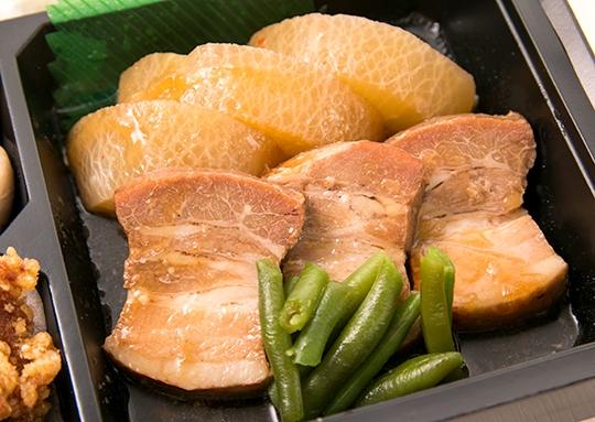 満腹の豚の角煮弁当