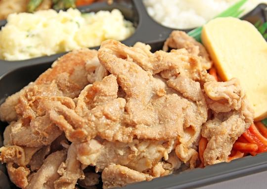 豚ロース生姜焼き弁当