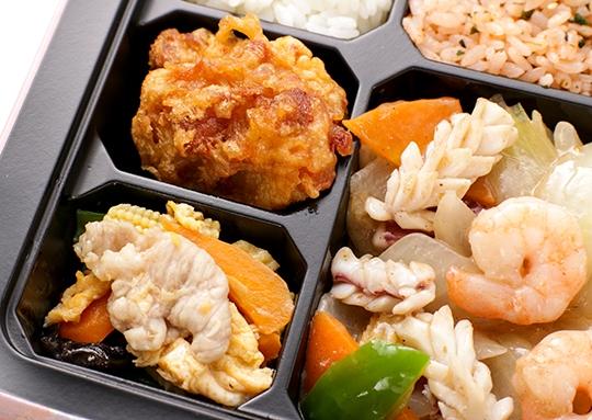 海鮮XO醤炒め弁当