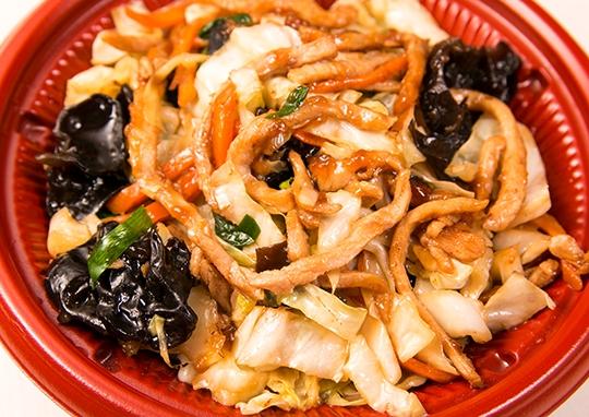 肉・野菜たっぷり炒め丼