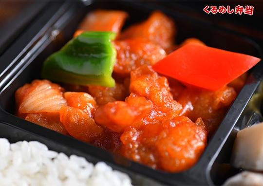 贅沢酢豚&麻婆茄子弁当