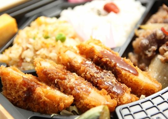焼肉&トンカツ弁当