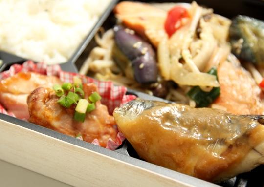 鮭のちゃんちゃん焼きボリューム弁当