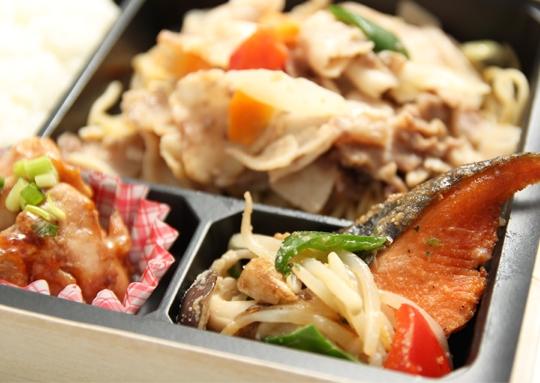 豚味噌焼きボリューム弁当