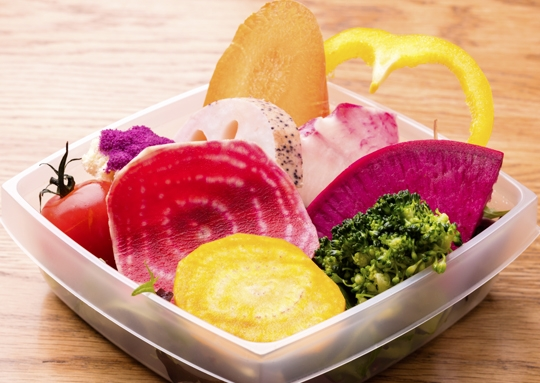 7種野菜のサラダとOrganicヴィーガンサンドイッチBOX