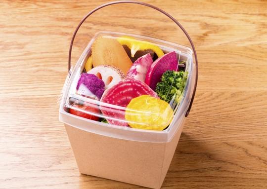 7種野菜のサラダとOrganicスパイシーチキンサンドイッチBOX