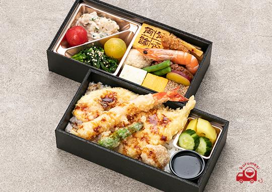 賛否両論の和ドカ弁 いろいろ天ぷらご飯