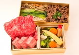 史上最高のロースと赤身肉の懐石弁当【A5ランク】