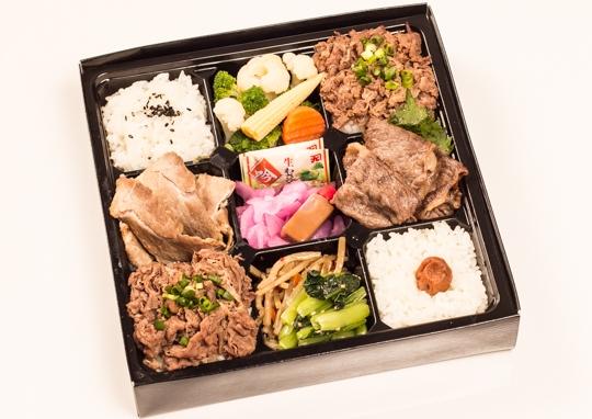 特製焼肉重とTOKYO X(国産ブランド豚)&A5ランク黒毛和牛の食べ比べ御膳